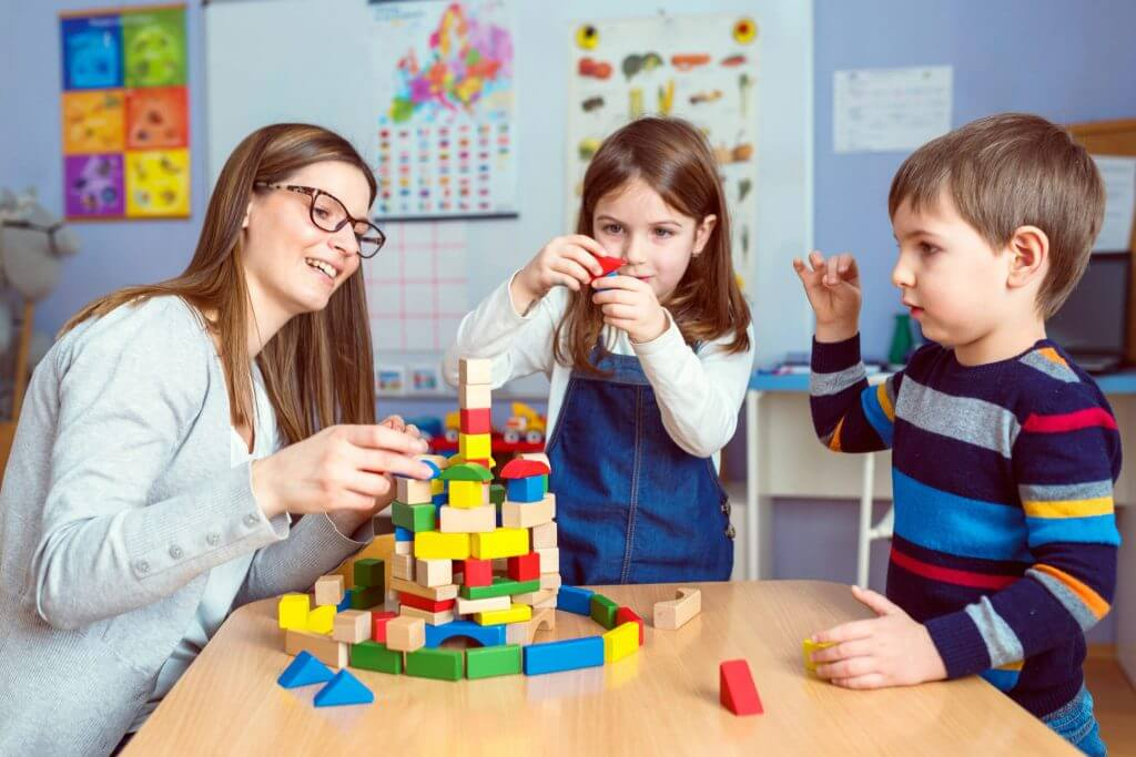 Children learning about real world physics through play is what Early Years Care & Education is all about.
