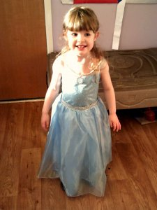 Pretty girl, princess dress, dress up day, charity event