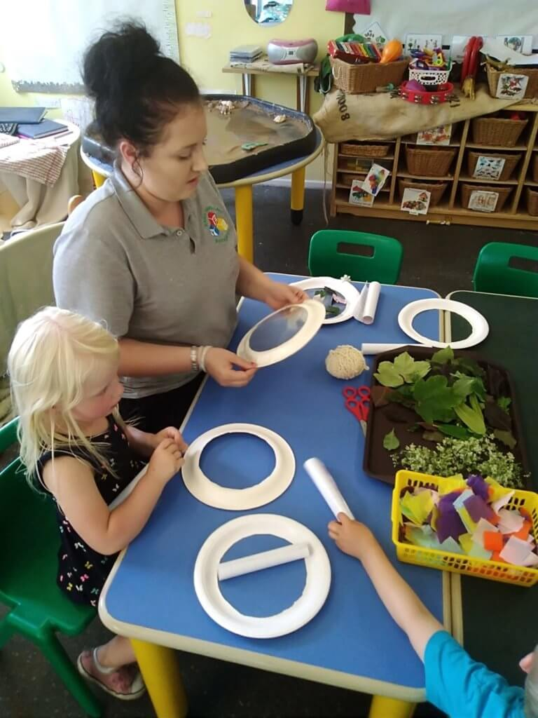 Workshop, pre-school, natural resources creative activity, dream, fun, exciting, teamwork, parent involvement